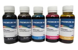 InkTec Набор чернил H7064 для HP (5 x 100 ml)