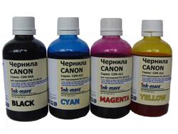 Ink-mate Набор чернил CIM-04 - CIM-41 для Canon (4 x 100 мл)