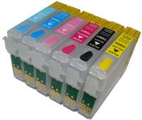 Перезаправляемые картриджи для EPSON Stylus Photo P50 PX660 PX730 PX830