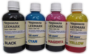 Ink-mate Набор чернил SIM-70 для Lexmark (4 x 100 мл)